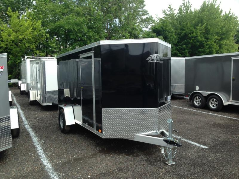 2017 Aluminum Trailer Company RAVAB6012 Enclosed Cargo Trailer