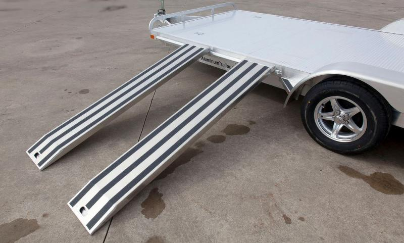 2017 Aluminum Trailer Company OCHAB8516+0-2T.35K Flatbed Trailer
