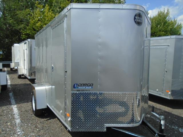 2018 Wells Cargo FT610 Enclosed Cargo Trailer