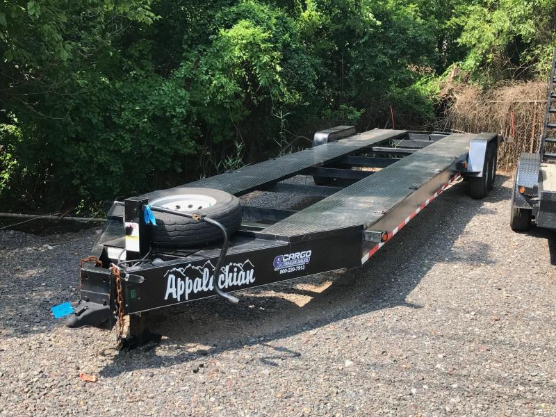 2016 Appalachian 2 Car Open Deck Flatbed Trailer