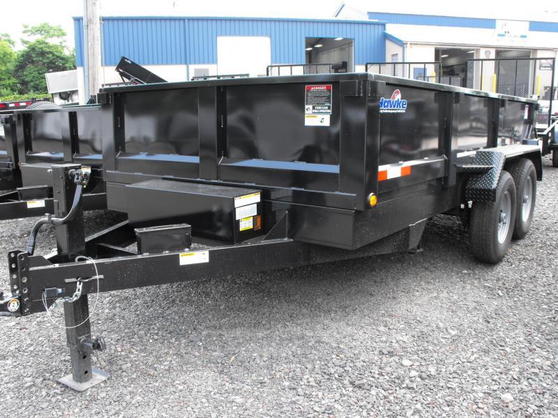 2017 Tow Rite LPT714X Dump