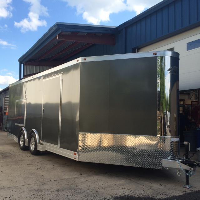 2017 Aluminum Trailer Company QSTAB8520+4-2T5.2K Enclosed Cargo Trailer