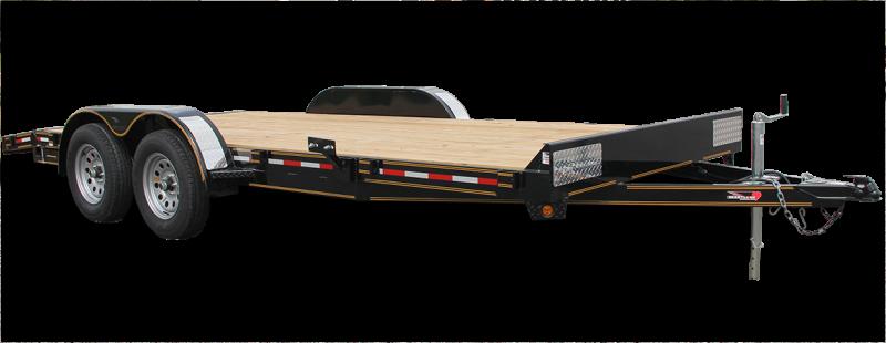 2018 Heartland RVs 76 x 14 tandem flatbed
