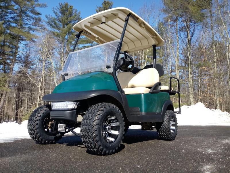 Club Car Precedent Electric 4 Pass Green Cart 4 Lift Kit Nice Car