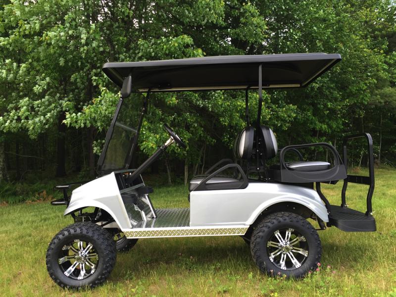 $156/m CUSTOM Club Car Spartan Elec 4 pass golf cart Multi Colors ...