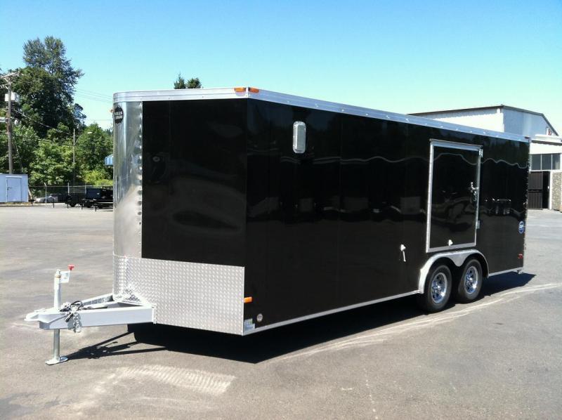 2016 Wells Cargo RFV85X202 Enclosed Cargo Trailer