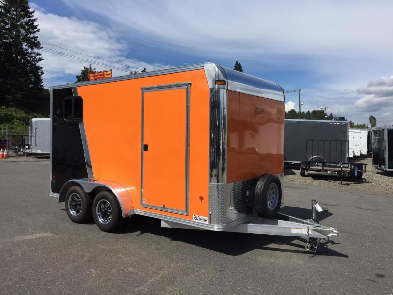 2015 Mission UET 2015 MISSION 7X14 Motorcycle Trailer
