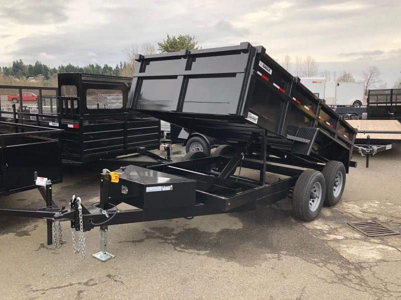 Eagle Trailer ED710TA3-RAMPS Dump Trailer