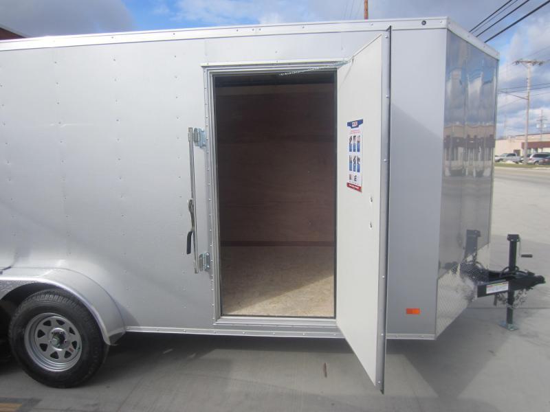 2018 Bravo Trailers 7X16 HERO BY BRAVO RAMP DOOR Enclosed Cargo Trailer