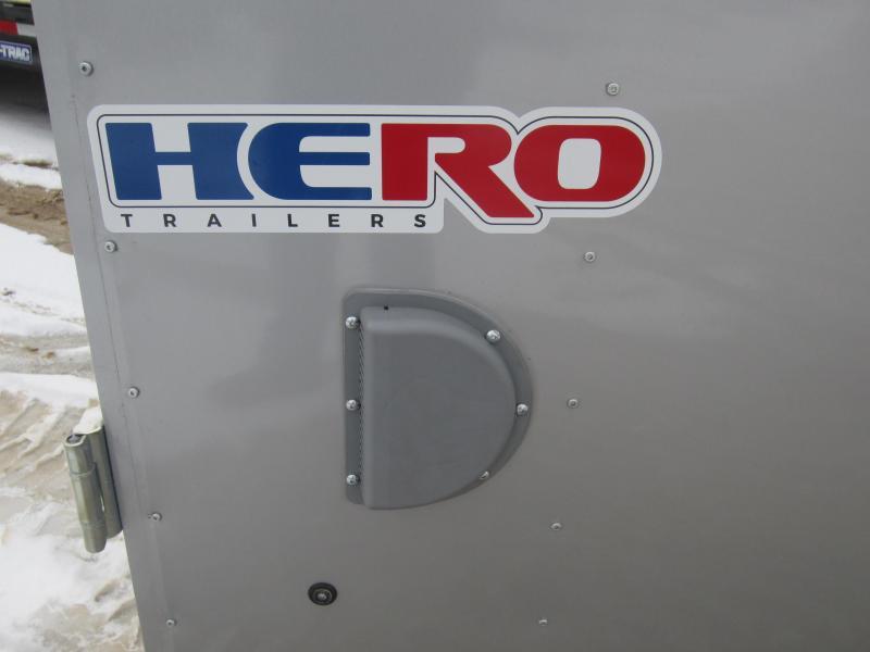 2018 Bravo Trailers 6X12 HERO SWING DOORS Enclosed Cargo Trailer