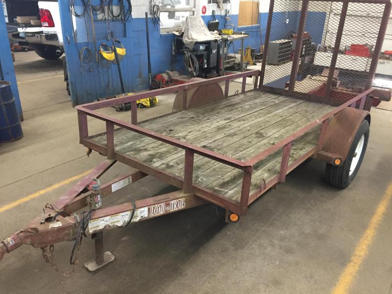 2005 Load Trail 5X10 ANGLE TOP USED Utility Trailer
