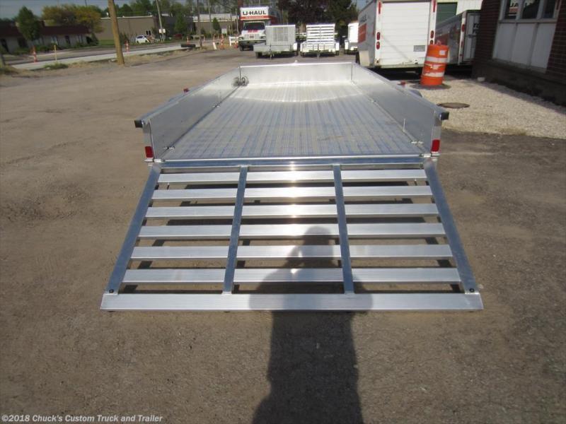 2017 ATC 7 X 16 Aluminum w/ Sides