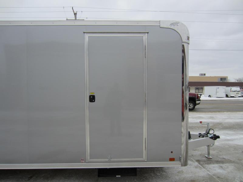 2018 ATC 8.5X24 CAR HAULER ALUMINUM Enclosed Cargo Trailer
