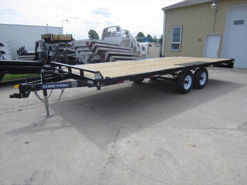 2017 Sure-Trac 8.5 X 20 Deckover Equipment Trailer