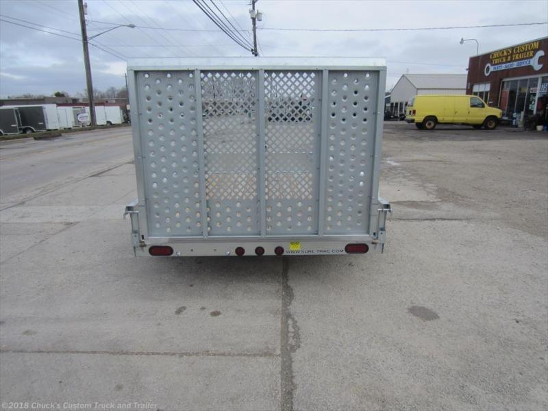 2018 Sure-Trac 6 X 10 Galvanized Utility Trailer