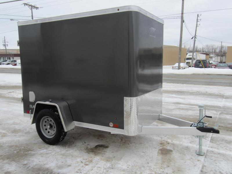2018 ATC 5x8' cargo with swing doors Enclosed Cargo Trailer