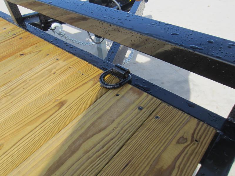 2018 Sure-Trac 7 X 20 Wood Deck Car Hauler 10k