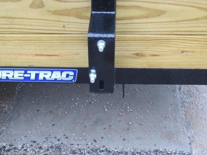 2018 Sure-Trac 6 X 10 3-Board Tube Top Utility Trailer