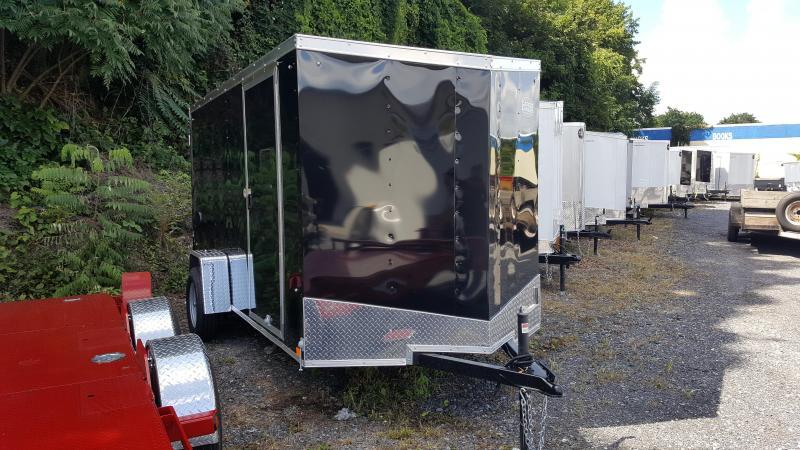 2018 Cargo Express 6 X 12 EX DLX Enclosed Trailer Ramp Door