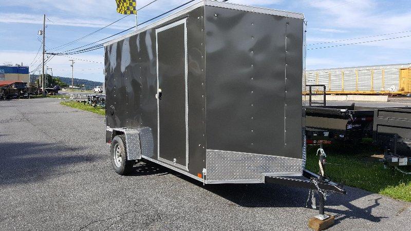 2019 Cargo Express 6X12 Ex DLX Enclosed Trailer W/ Ramp Dr