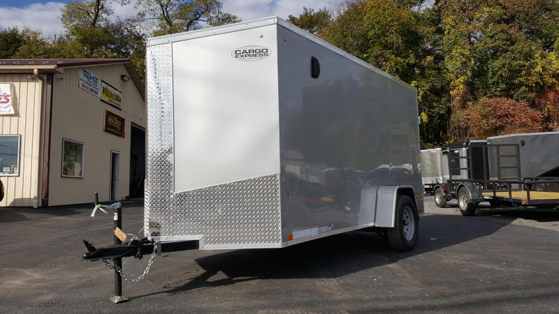 2018 Cargo Express XLW SE 6 X 12 Enclosed Trailer W/Ramp