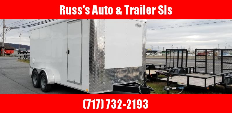 2019 Cargo Express XLR 7x16 Enclosed Trailer w/Double Doors