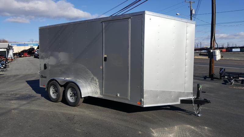 2018 Cargo Express 7 X 14 EX DLX Enclosed Trailer w/ Ramp Door