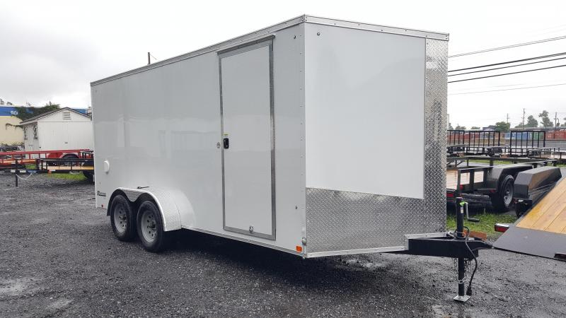 2018 Cargo Express 7 X 16 XLW SE Enclosed Trailer Ramp Door