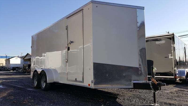 2019 Cargo Express 7 X 16 XLW SE Enclosed Trailer Ramp Door