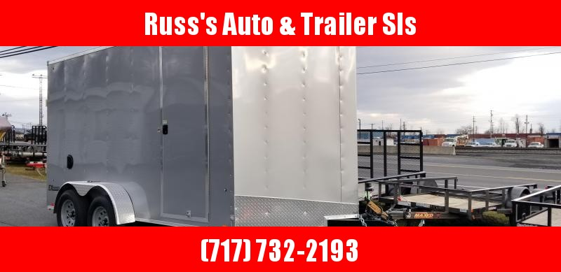 2019 Cargo Express 7X14 EXDLX Enclosed Trailer w/7' Int Ht
