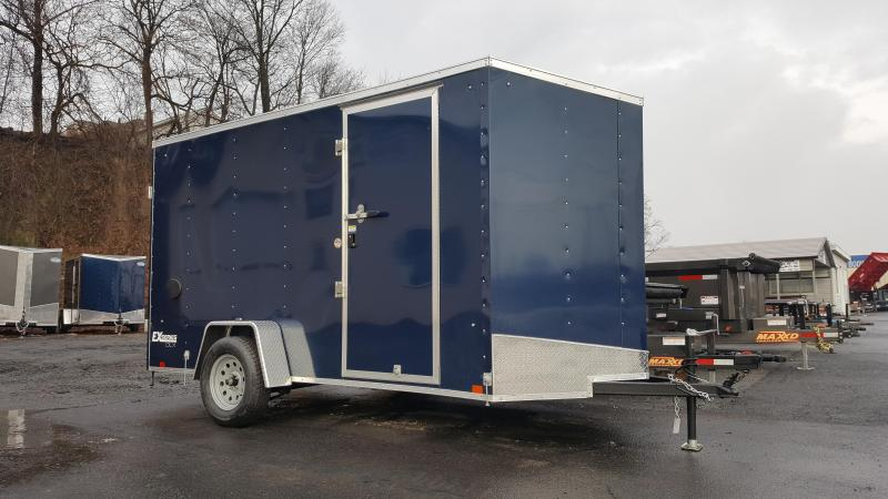 2019 Cargo Express 6X12 EX DLX Enclosed Trailer w/Doors