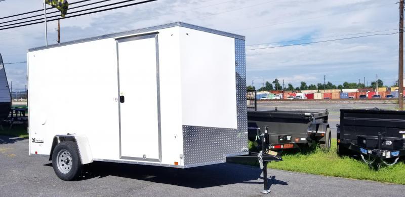 2019 Cargo Express XLW SE 6 X 12 Enclosed Trailer w/ Ramp Door