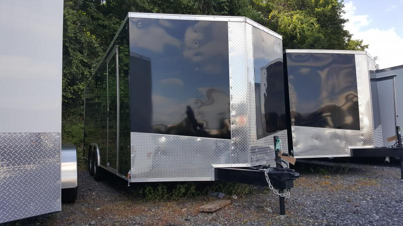 2017 Cargo Express 8.5 X 20 XLW Enclosed Trailer Ramp Door Ext. Tongue