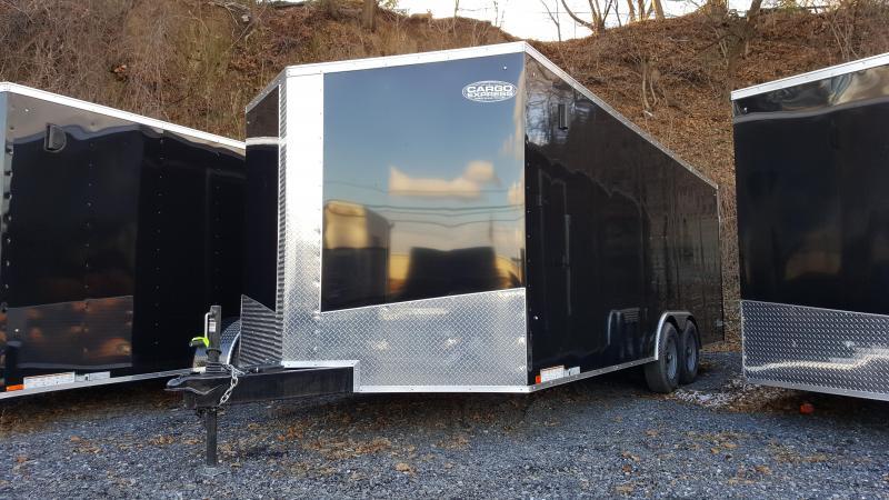 2018 Cargo Express 8.5 X 20 XLW Enclosed Trailer Ramp Door