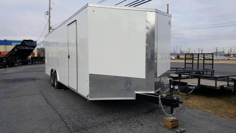 2019 Cargo Express Xlw Se 8.5 X 24 Enclosed Trailer