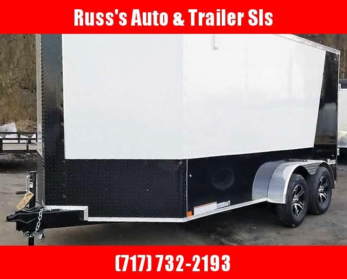 2020 Cargo Express 7X14 XLW Enclosed Trailer W/RAMP