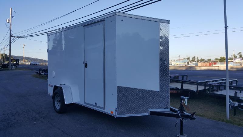 2018 Cargo Express 6 X 12 XLW SE Enclosed Trailer w/Ramp Door *White