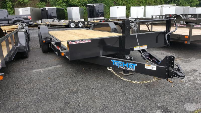 2017 Top Hat 7' X 20' TDS  Tilt Deck Equipment Trailer 14k GVWR