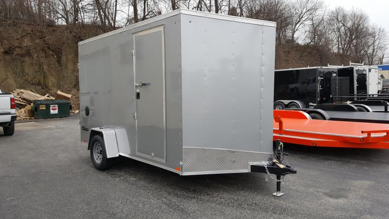 2019 Cargo Express 7 X 12 EX DLX Enclosed Trailer w/ 7Ft Interior Height