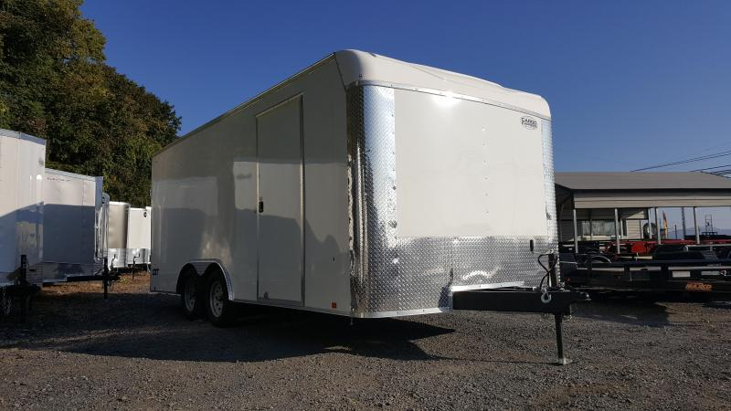 2018 Cargo Express CXT 8.5X18 Enclosed Cargo Trailer*WHITE