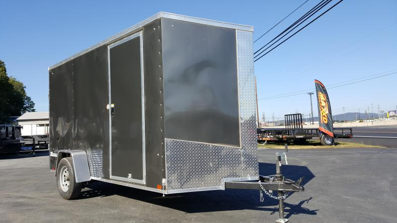 2018 Cargo Express 6 X 12 XLW SE Enclosed Trailer w/Ramp Door *Charcoal