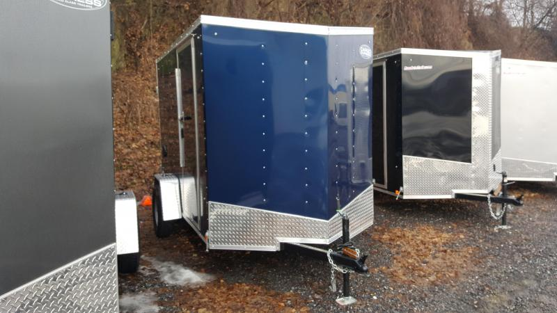 2019 Cargo Express 6X10 EX DLX Enclosed Trailer w/Doors