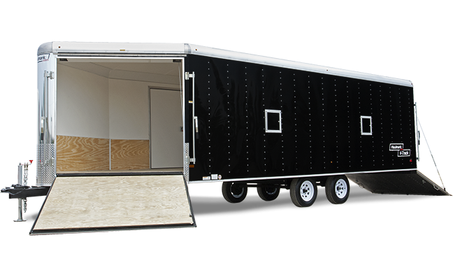 2018 Haulmark RVT85X28DT3 Snowmobile Trailer