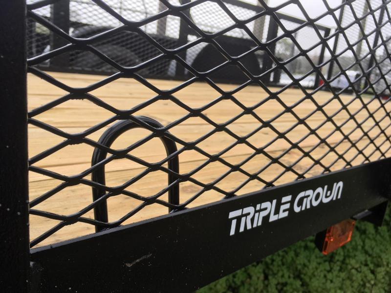 2018 Triple Crown Trailers 5x10 Utility Trailer