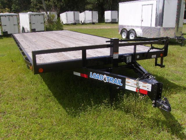 85X20 Load Trail Trailers DECKOVER EQUIPMENT TRAILER