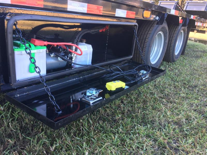 2018 Load Trail 32 Low-Pro GN Hyd. Dove Equipment Trailer
