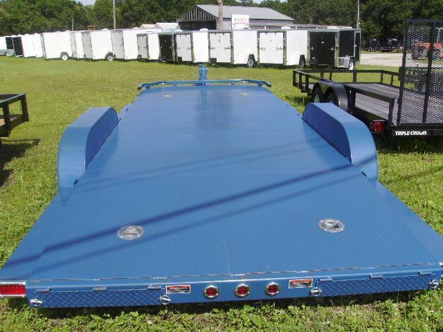 7x20 Load Trail Trailers Steel Deck Trailer