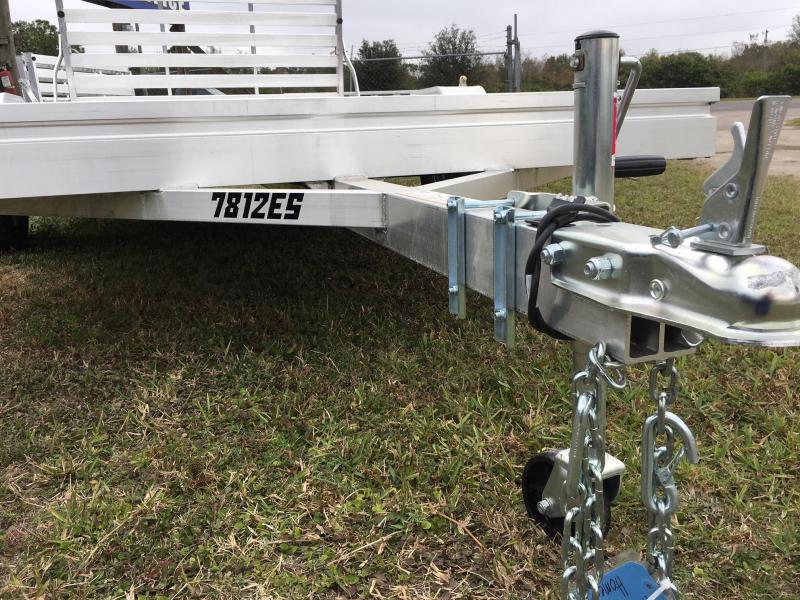 2018 Aluma 7812ES Utility Trailer