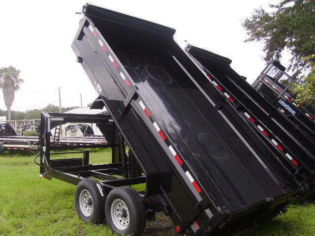 7x16 Load Trail Trailers Gooseneck Dump Trailer