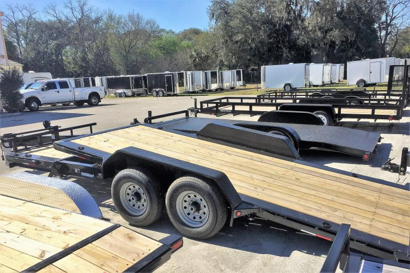 2017 Load Trail Tilt Deck Equipment Trailer